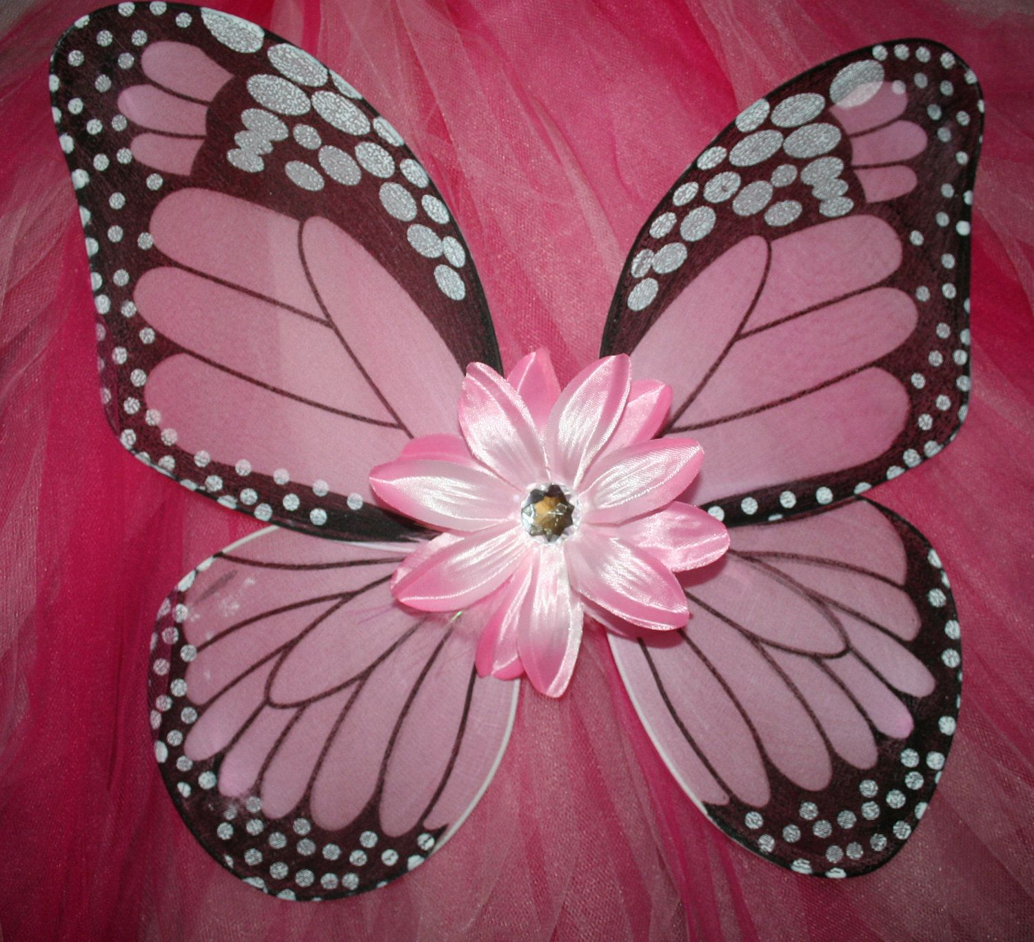 43a7b1e5596 Pink Monarch Butterfly Wings for the flower girls. Pink Monarch Butterfly  Wings for the flower girls Fairy Halloween Costumes