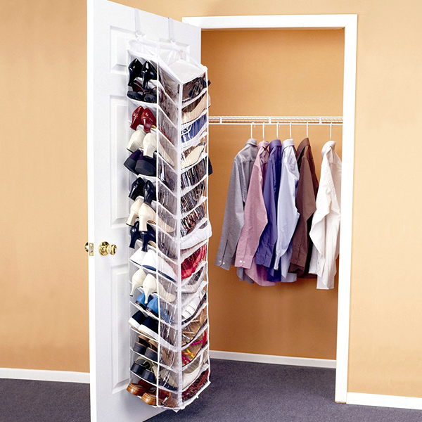 Over The Door Shoe Organizer 30 Pairs Shoe Organization Closet Dorm Closet Dorm Organization