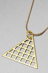 SOOS Rocks Jewelry The Pyramid Necklace : Karmaloop.com - Global Concrete Culture