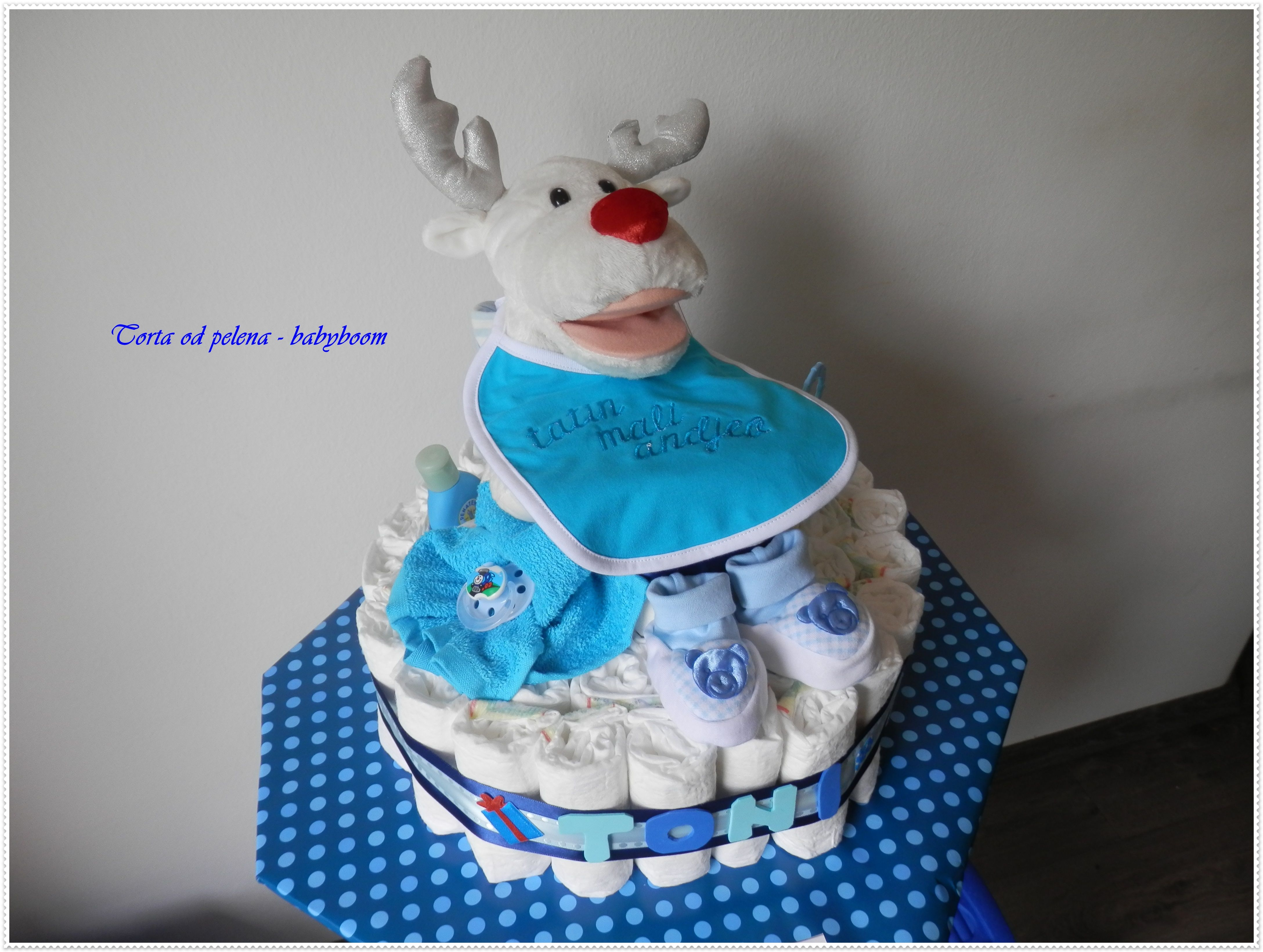 Torta od pelena Nedostaje vam ideja za poklon unikatna torta od pelena