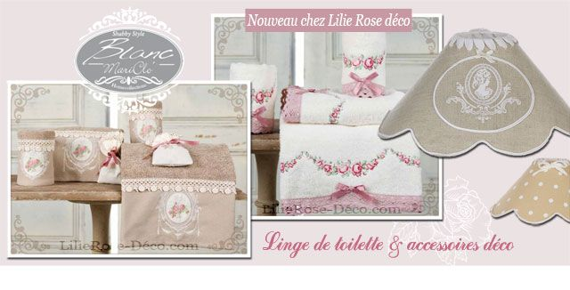 Une nouvelle marque de décoration arrive sur LilieRose-deco.com. Blanc Mariclo. Une marque pleine de charme qui nous l'espérons vous séduira autant que nous l'avons été !