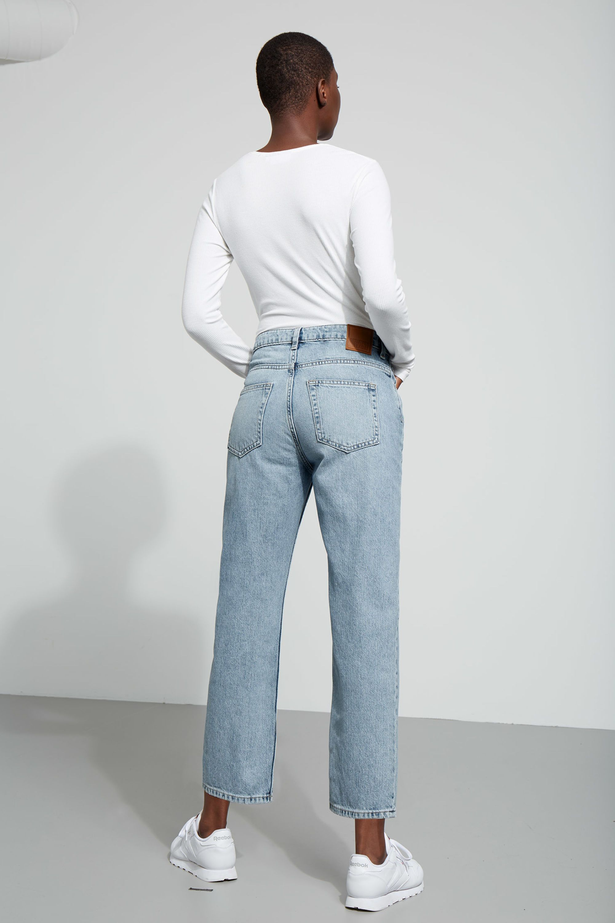 view fullscreen stretch twill blue slim comforter waist straight twilight clothing in comfort liverpool jeans company lyst