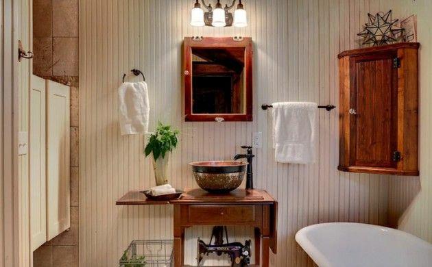 rustikale möbel badmöbel set echtholz rustikal Badezimmer - die schönsten badezimmer