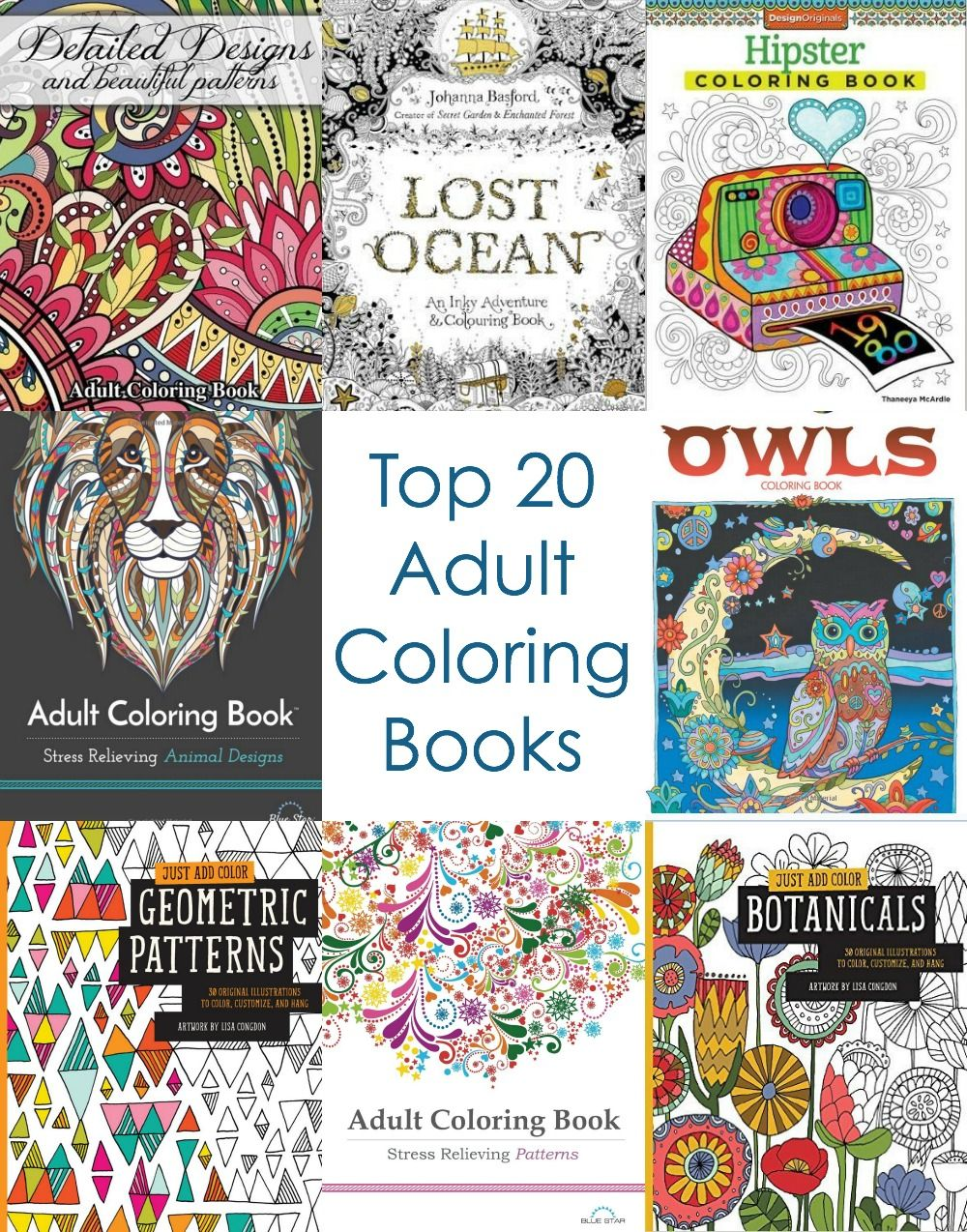 How much is the coloring book for adults - Top 20 Adult Coloring Books