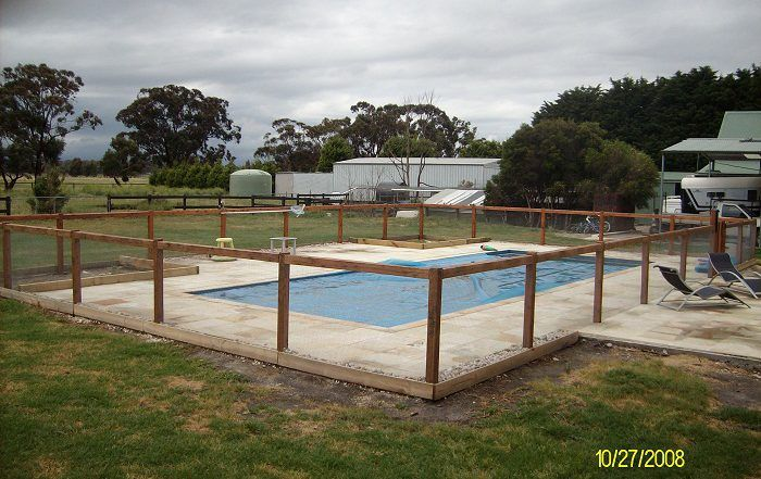 Farm Style Pool Fence Victorian Electric Fencing If You Live On A Rural Property And Looking For A Pool Fence Don T Pool Fence Backyard Fences Cheap Fence