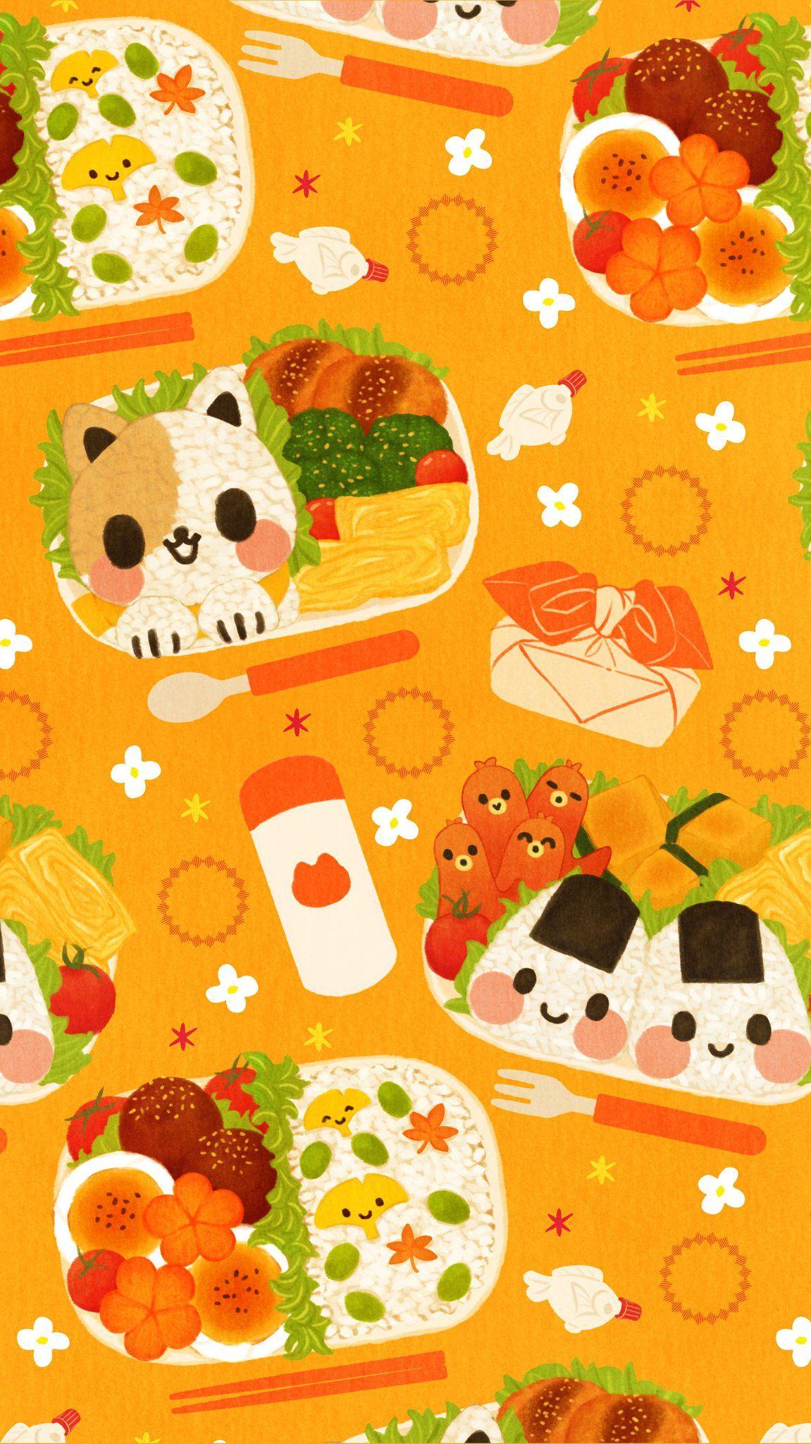 Omiyu みゆき On 2020 お弁当 イラスト 食べ物 イラスト イラスト