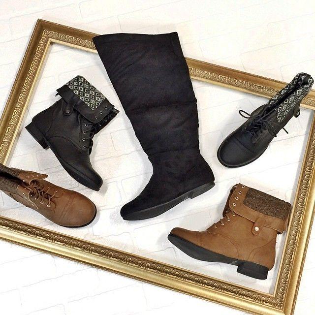 NEW boots to love >> #WetSealPlus