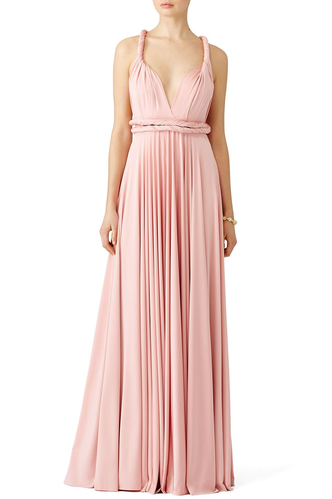 Blush Classic Convertible Gown