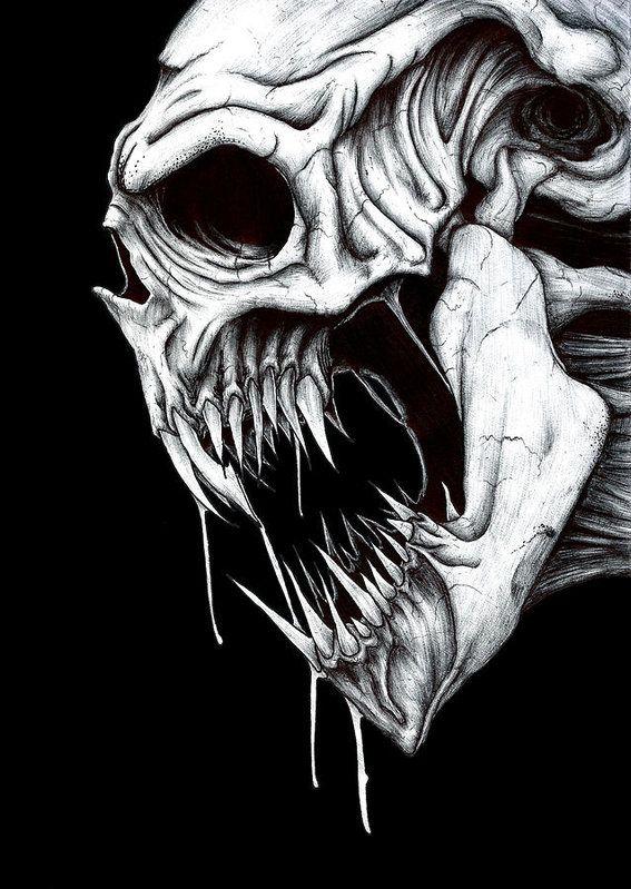Grim Reaper Art Print by Anthony McCracken   Calaveras, Dibujos ...