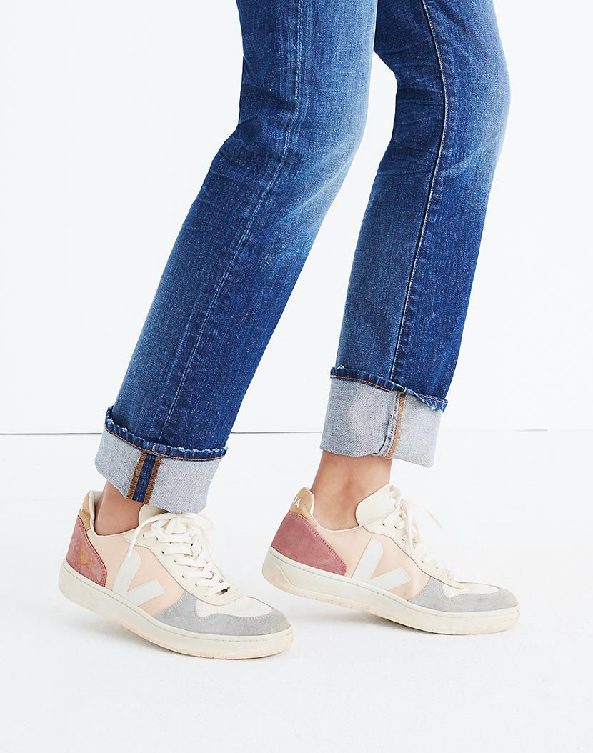 templo Arqueología Remo  Women's Veja™ V-10 Sneakers in Colorblock | Cute sneakers, Sneakers  fashion, Sneaker outfits women