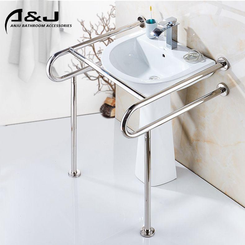 Stainless Steel Handicap Toilet Grab Bars For Disabled And Elderly Bathroom Safely Grab Bar Find Complete Details Handicap Toilet Bathroom Sanitary Grab Bars