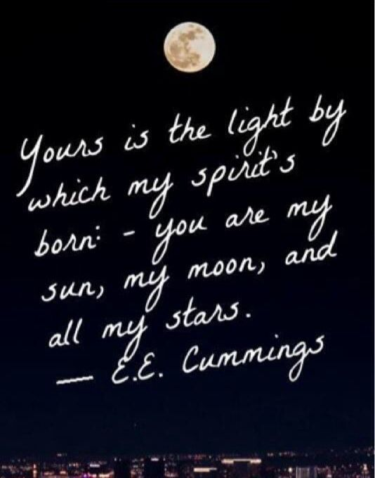 Moon Quote Ee Cummings  Quotes, Words, Quotes To Live By-1412