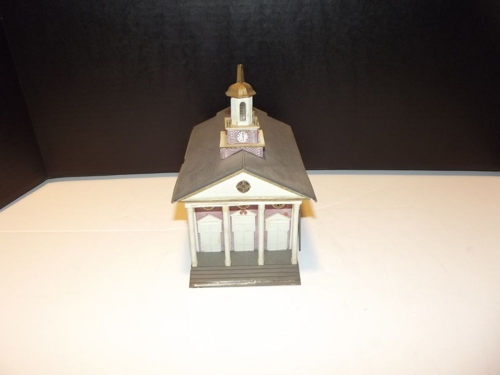 1//87 HO Scale White Building HO069 For Outland Models Train Railway Layout