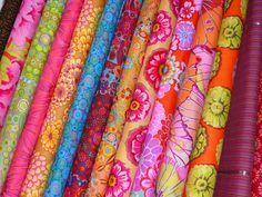 Kaffe Fassett floral fabric