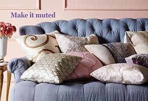 Enchanting Additions: Pillows in a Romantic Palette