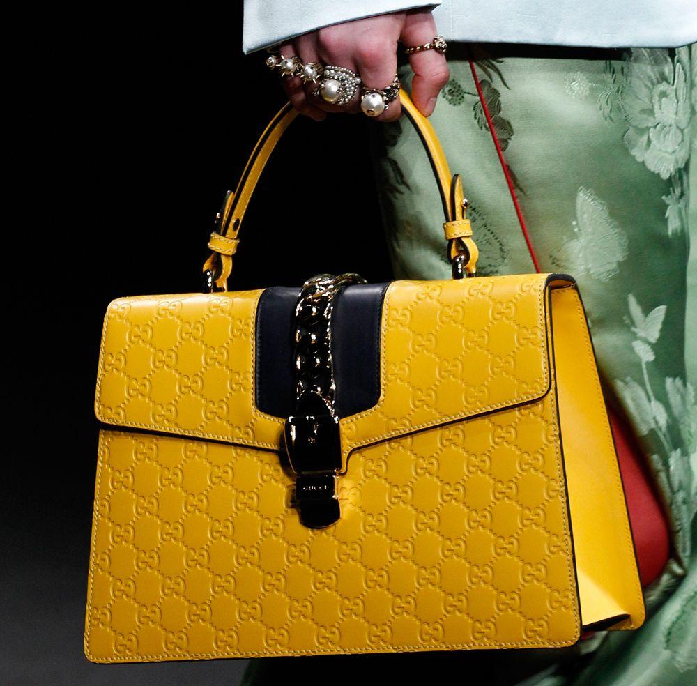 Bolsa Gucci amarela