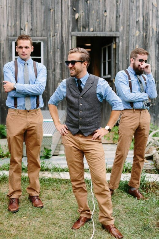 Groomsmen Attire Ideas 235