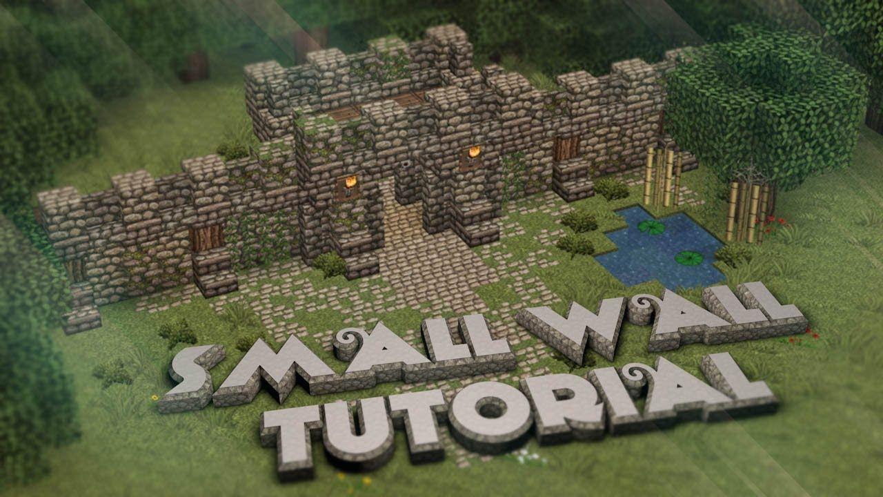 Small Dwarven Wall Tutorial | ssssss    boom | Minecraft tutorial