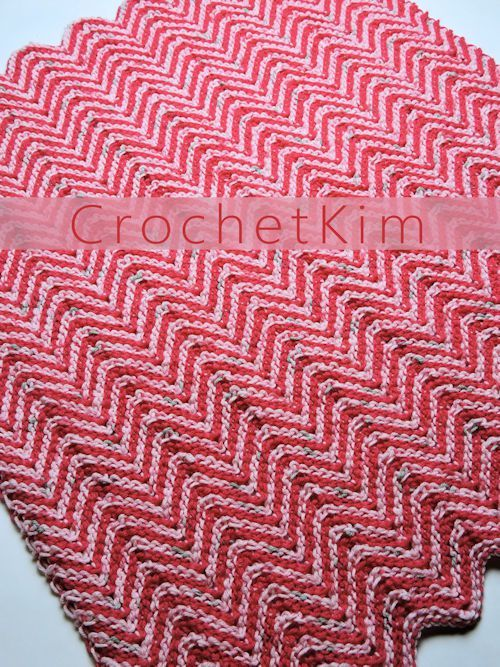 CrochetKim Free Crochet Pattern | Ripple Candy Baby Blanket ...