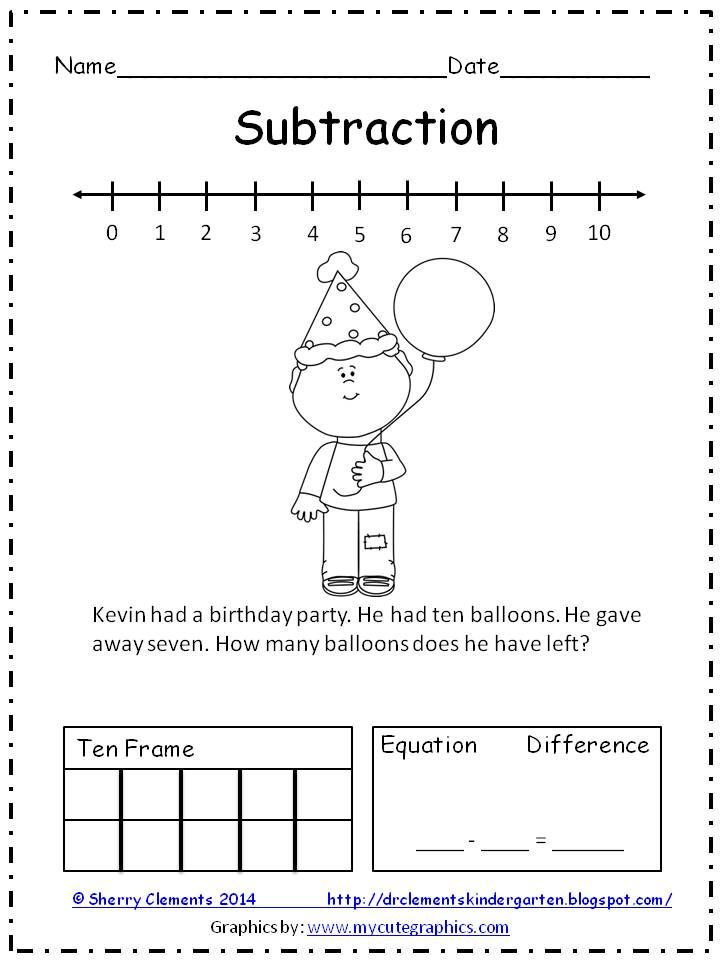 Freebie Addition And Subtraction Word Problems  Pages  Solve