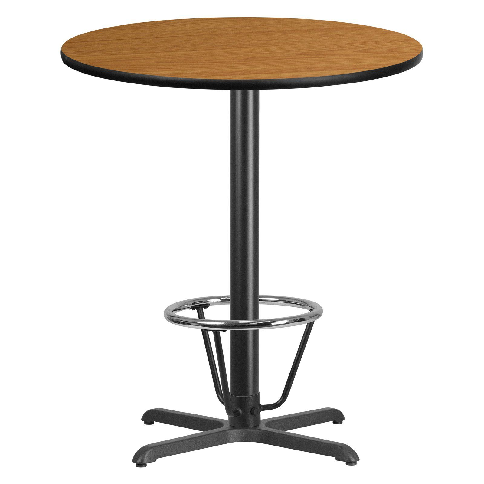 Flash Furniture 36 In Round Table Top With 30 In X 30 In Table