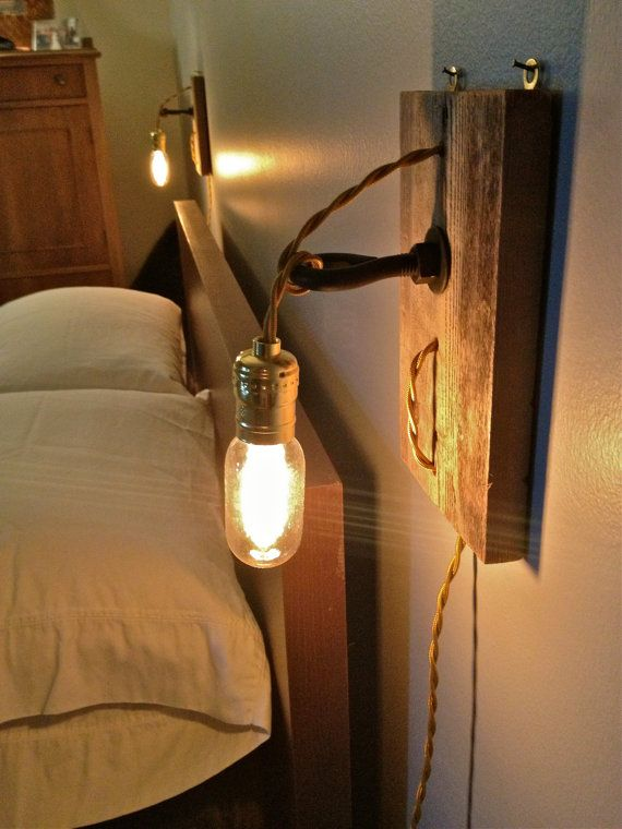 Retro Wall Sconce Reading Lamp Pair By Levilight On Etsy
