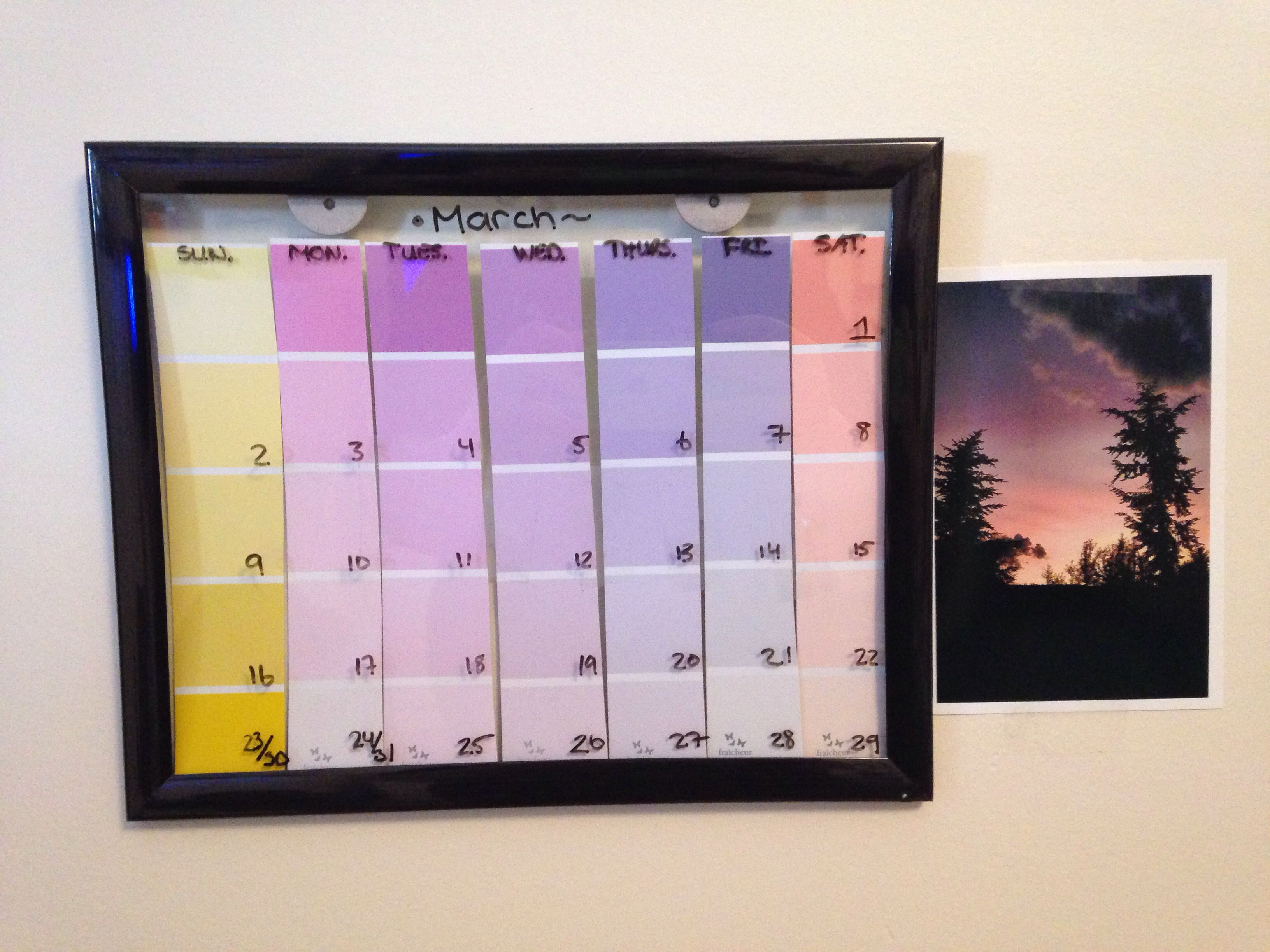 Do it yourself calendar diy pinterest do it yourself calendar solutioingenieria Gallery