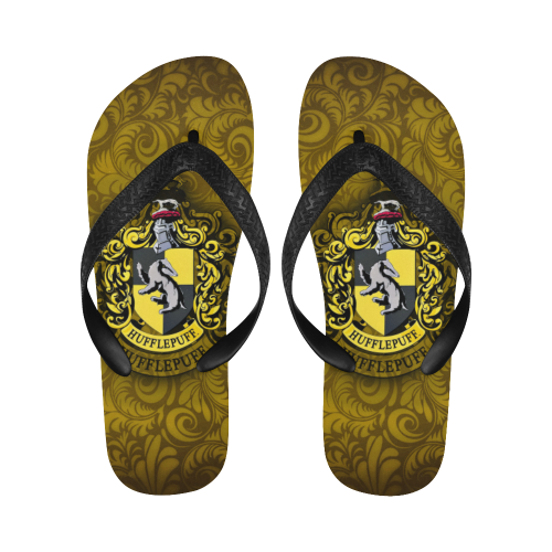 8a8fcdd0f Harry Potter - Hufflepuff - Flip Flops-MyStorify | Hufflepuff Pride ...