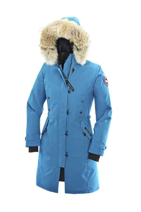 blue canada goose jacket womens