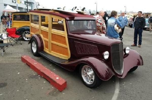 33 Ford Woody Brought To You By House Of Insurance Eugene