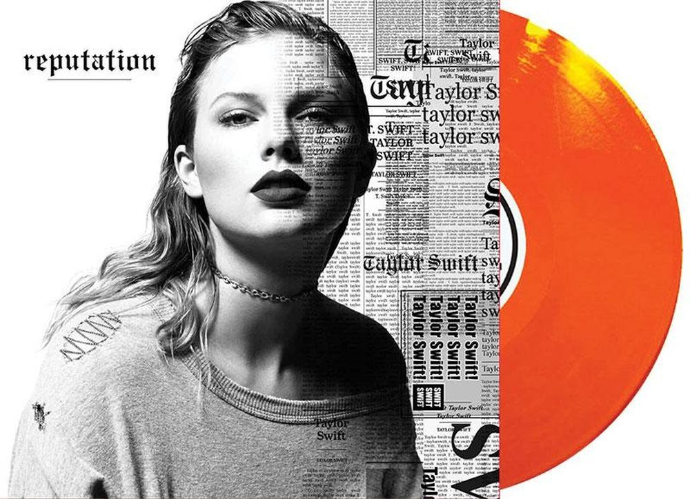 Taylor Swift Reputation Exclusive 2lp Translucent Orange Vinyl Taylor Swift Swift Vinyl