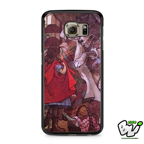 Little Red Riding Hood Shock Samsung Galaxy S6 Case