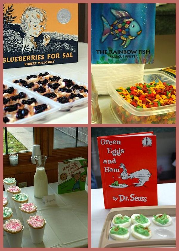 Storybook Baby Shower Food For My Future Lil Monsters Pinterest
