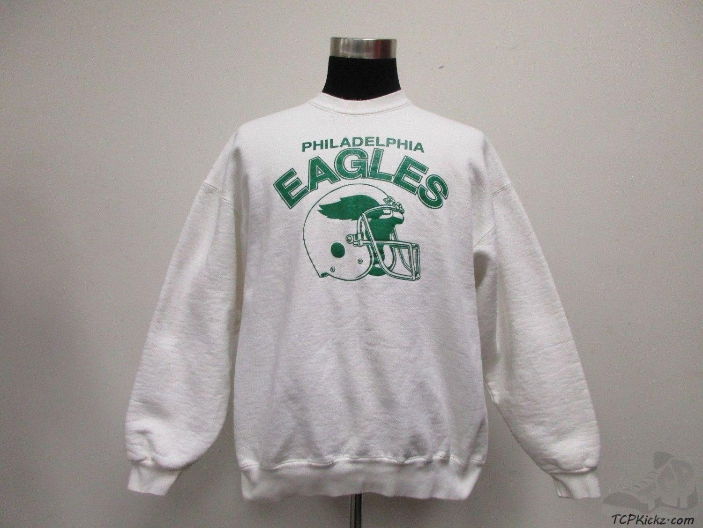 Vtg 80s 90s Acme Philadelphia Eagles Crewneck Sweatshirt Sz Xl Extra Large Nfl Vintage Crew Neck Sweatshirt Sweatshirts Philadelphia Eagles [ 1126 x 1500 Pixel ]
