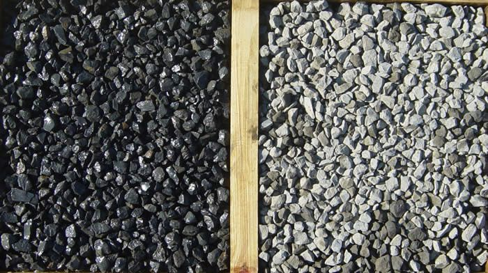 Rotomill is a recycled asphalt product that compacts and