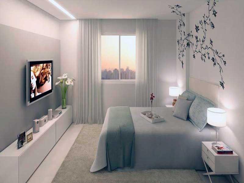 Habitaciones de matrimonio peque as decoracionhabitacion for Dormitorios para habitaciones pequenas
