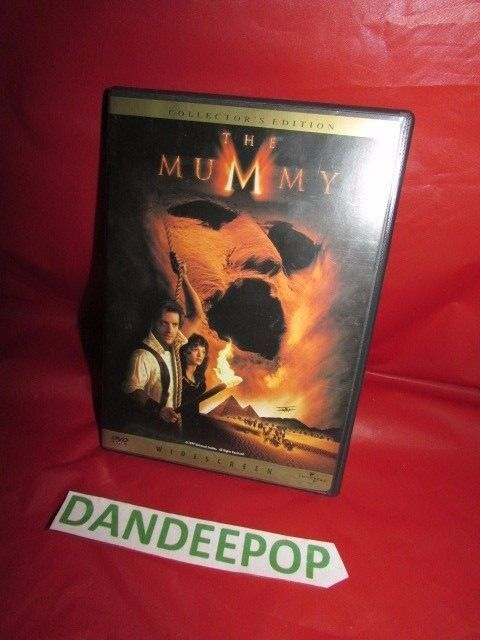 The Mummy Collector's Edition Widescreen Brendan Fraser DVD Movie #TheMummy Find me at dandeepop.com