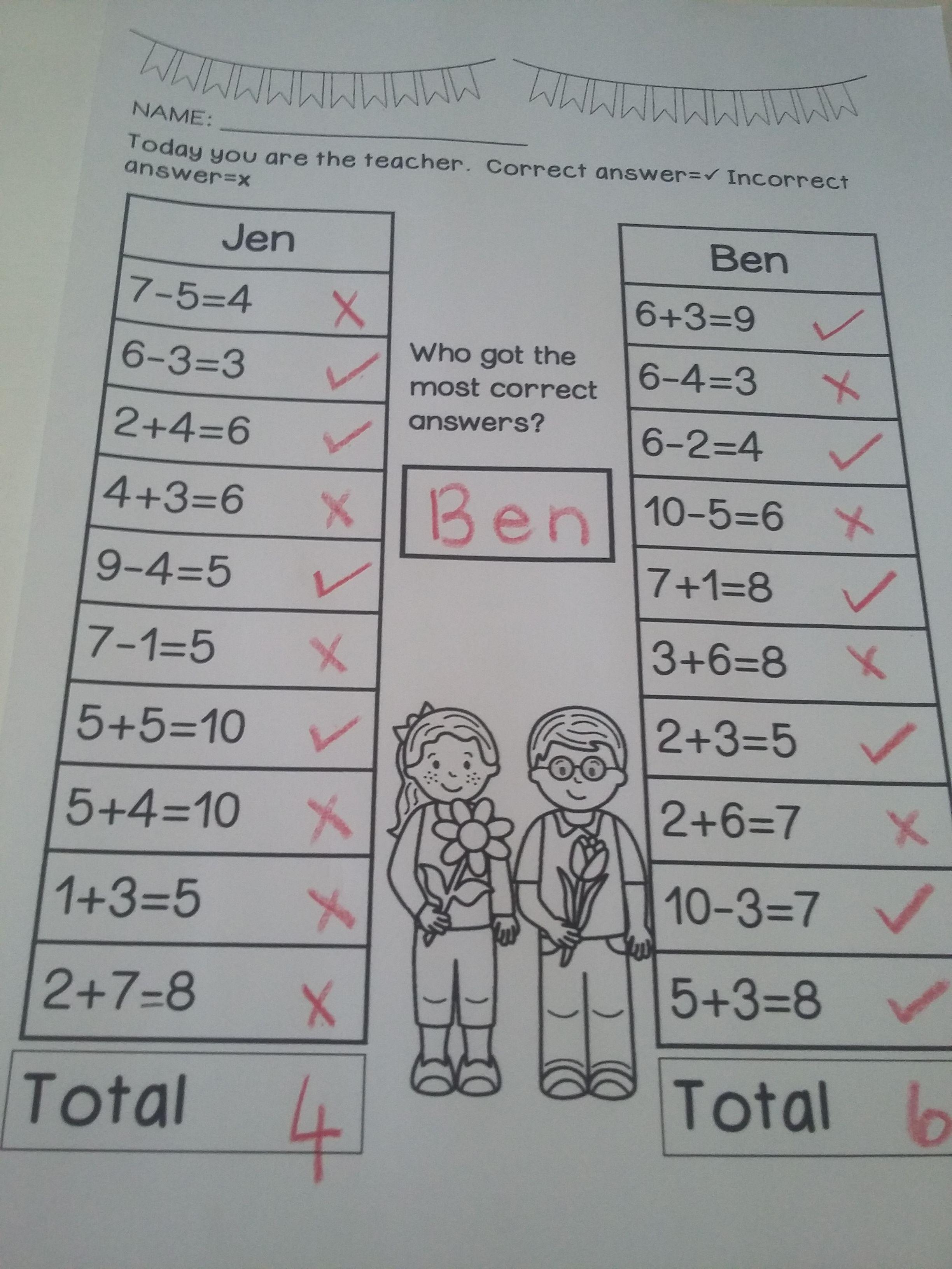 Spring Math Worksheets Kindergarten