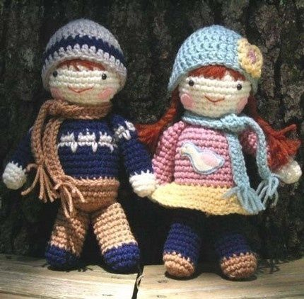 Free crochet doll patterns here is an easy pattern for baby doll ...