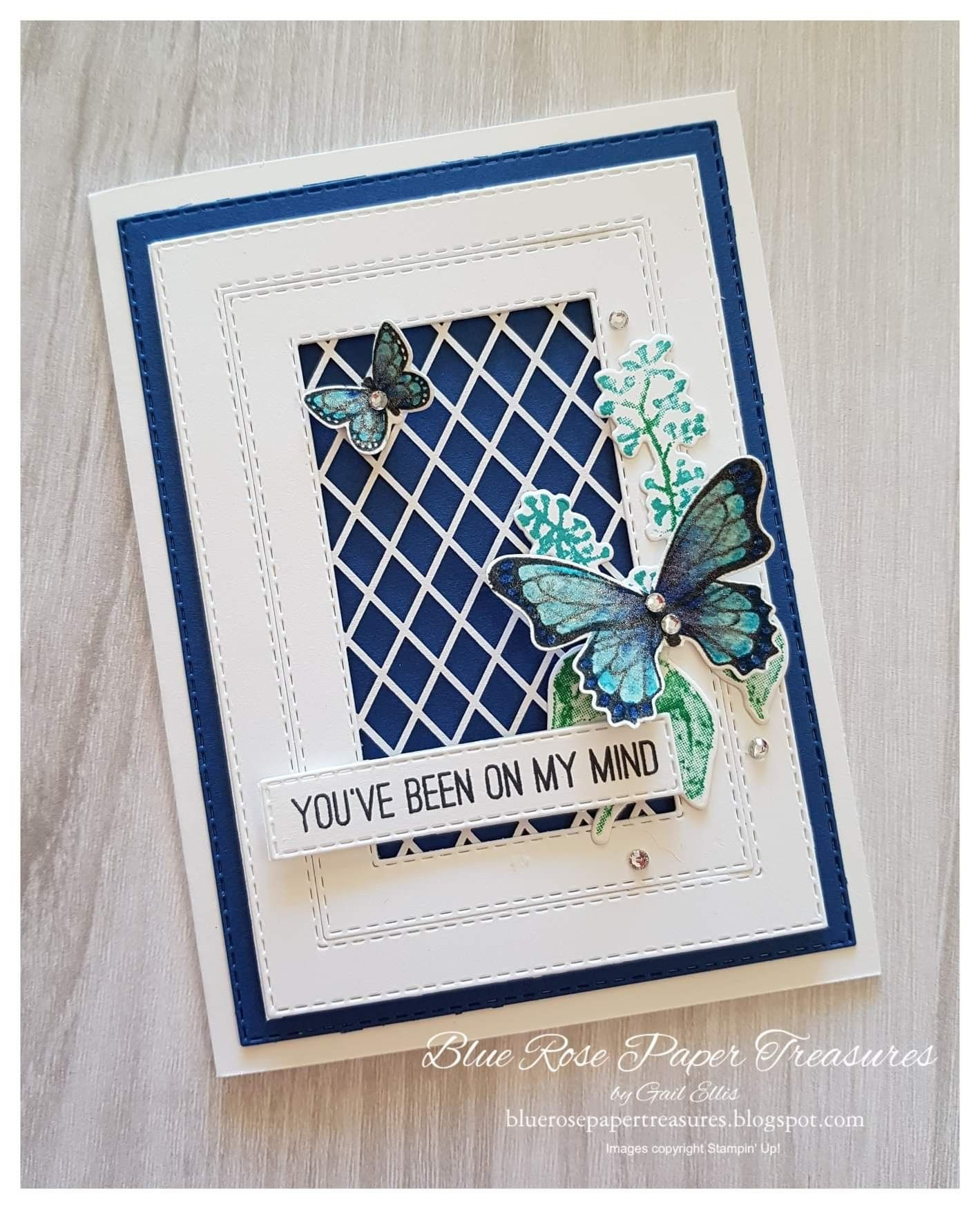 Stampin' Up! botanical butterfly dsp | Butterfly cards, Paper cards, Cards  handmade