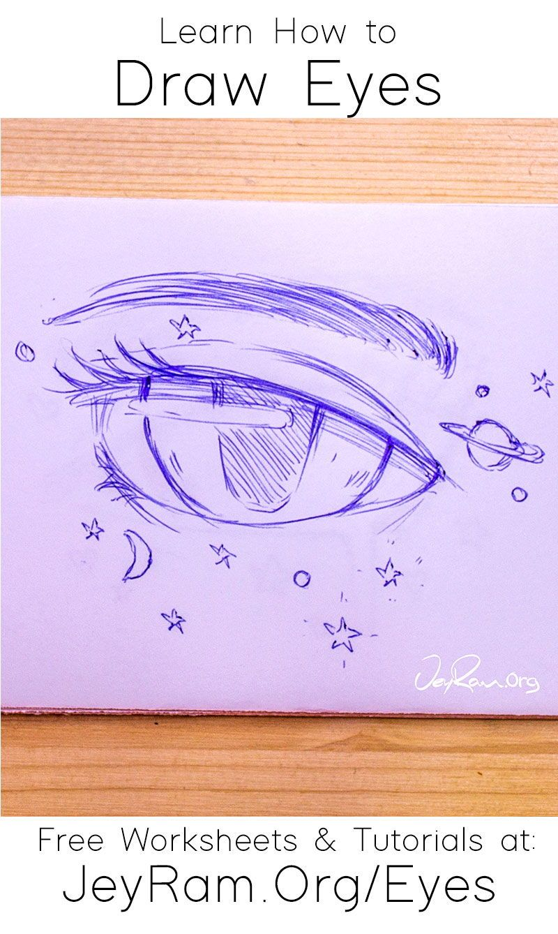 How To Draw The Eyes Step By Step For Beginners In 2020 Eye Drawing Drawings Drawing Tutorial Face