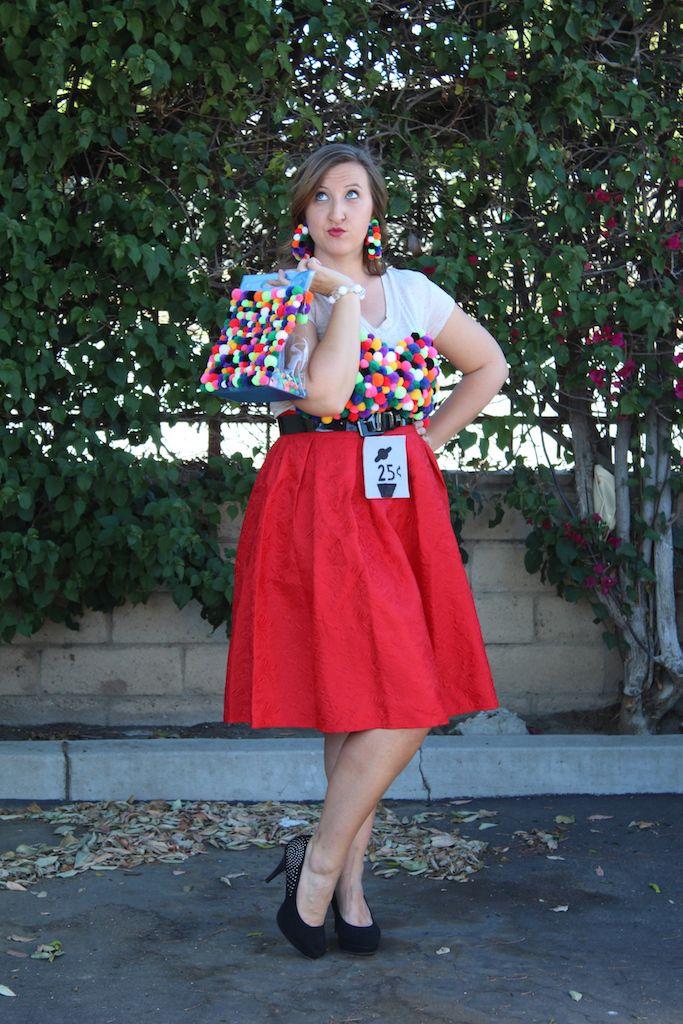 DIY Gumball Machine Costume  sc 1 st  Pinterest & DIY Gumball Machine Costume | Gumball machine costume Gumball ...