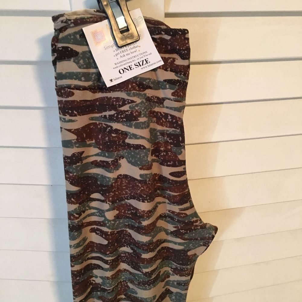 0f2863283b9c1a Lularoe Camo Leggings One Size | eBay | Gift ideas | Lularoe camo ...