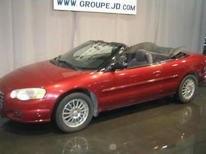 2005 Chrysler Sebring Convertible Decapotable Quebec City Quebec
