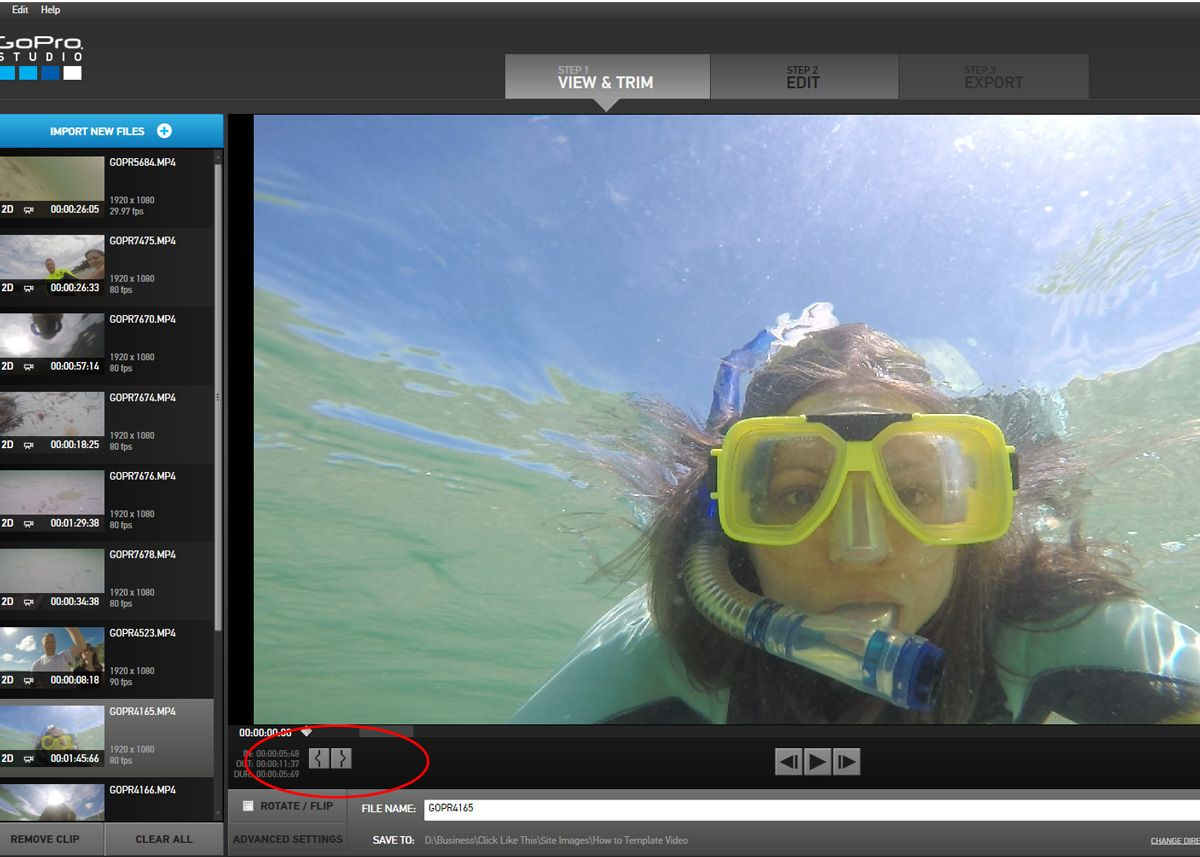 How To Use Gopro Edit Templates 6 Steps To Awesome Video Edits