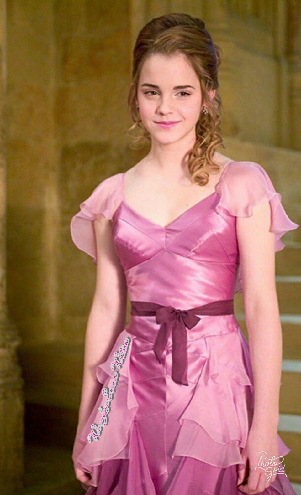 Emma Watson Harry Potter The Goblet Fire Emma Watson Harry Potter Harry Potter Costume Harry Potter Film