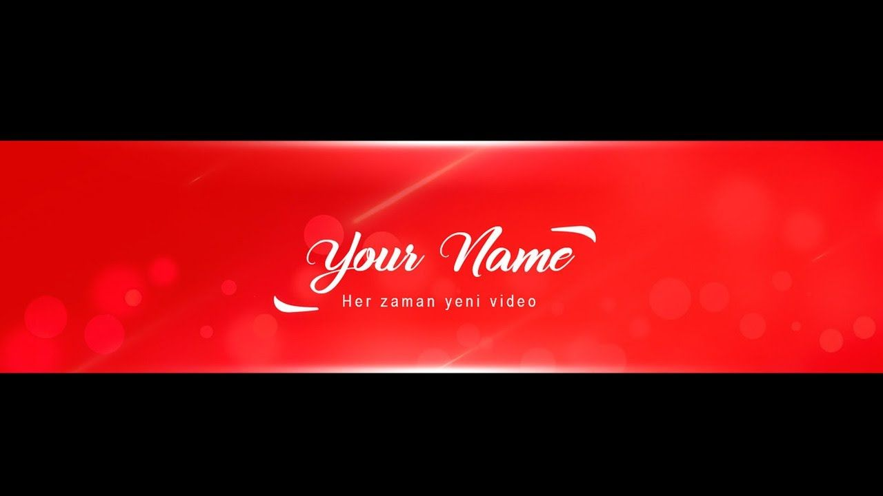 How To Make A Banner Free Youtube Banner Banner Photoshop Free