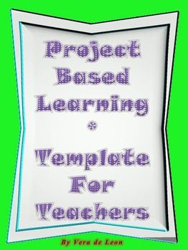 project based learning pbl template pinterest project based