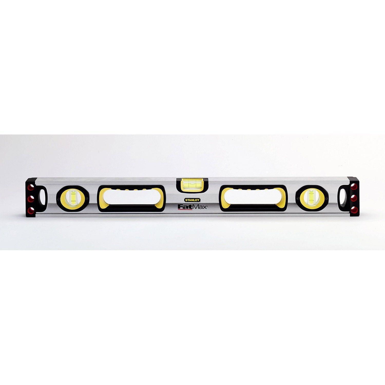 Niveau Tubulaire Aluminium Stanley Fatmax L90 Cm