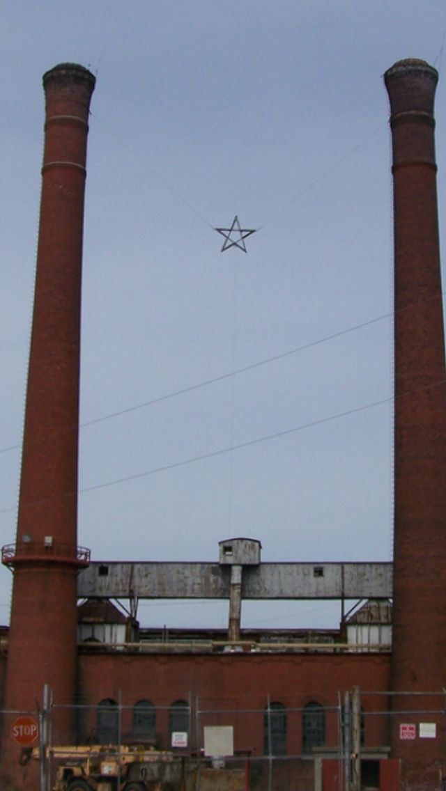 Pepperell Manufacturing Company, Lindale, Ga.. In 1931 the mill company built a Christmas Star ...